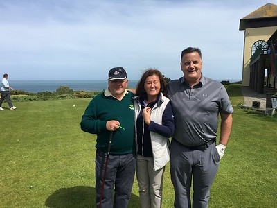 Duggan Cup: Ladies' Captain Grace lending her support to Mark Diggin & Rory Fahy