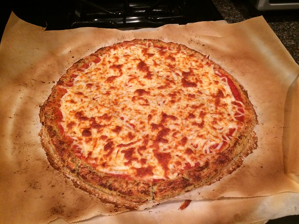 Moe Elghawy - Cauliflower Crust Pizza