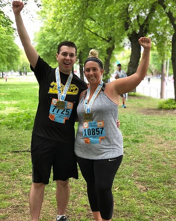 Mike Rolli - After completing the Broad Street Run with his fiancee