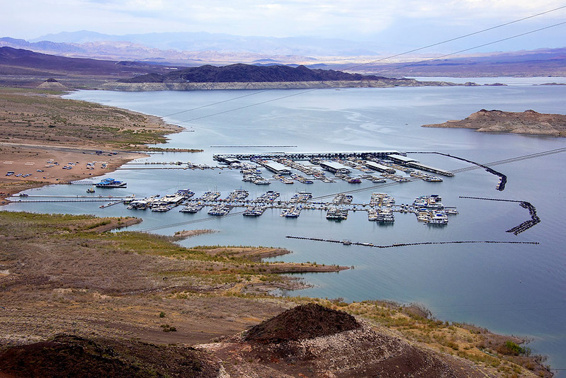 Lake Mead Marina.