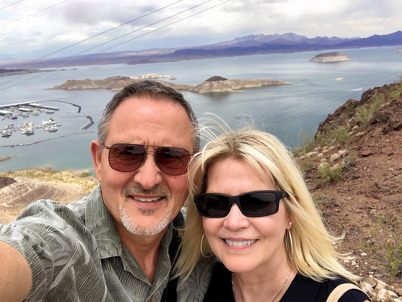 Our Lake Mead Selfie!!!