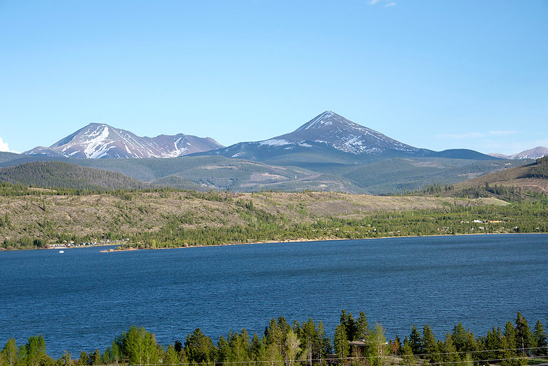 Dillon Reservoir, Silverthorne Colorado
