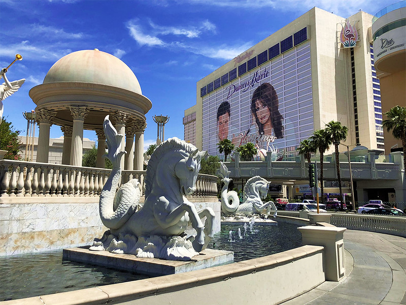 Donny & Marie were at the Flamingo