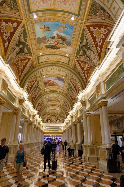 Lobby area Venetian Hotel