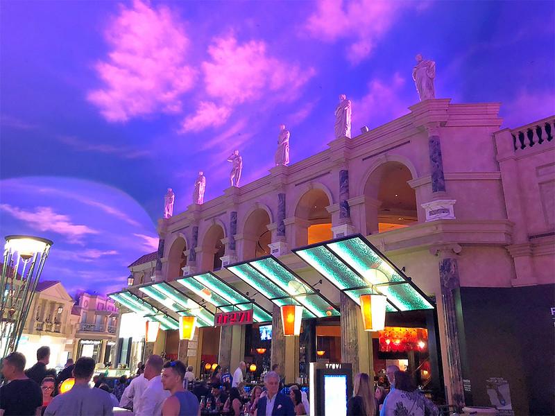 Inside Caesars Palace