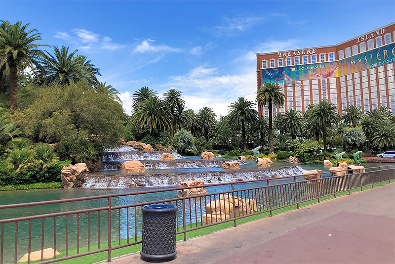 The Fountains at The Mirage Casino & Resort
