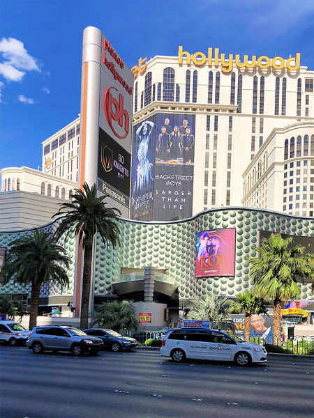 We stayed at the Planet Hollywood during our visit to Vegas