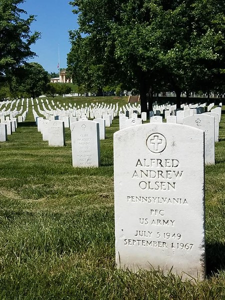 Arlington Cemetery and Women's Museum May 2018