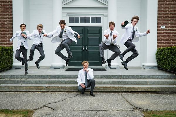 Chapel Steps Jump! 🎓