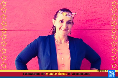 Photo booth fun Empowering the Wonder Women of ABQ a Social Networking Event