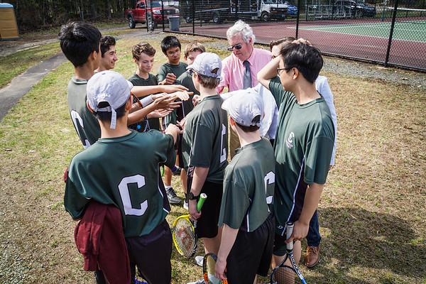 JV Tennis vs. Proctor Academy