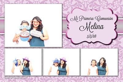 Melina's Primera Comunión