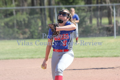Northland Pines Softball vs. Lakeland T-Birds