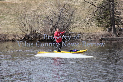 Paddleboarding the Eagle River Chain