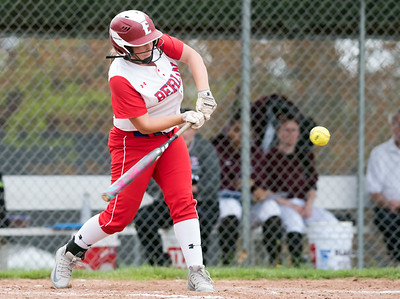 05/07/18  Wesley Bunnell | Staff  Berlin softball defeated Bristol Central 4-0 on Monday afternoon to secure its spot in the CIAC Tournament. Berlin's Kyle Lanteri (23)