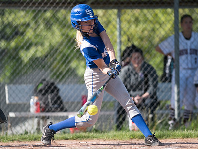 05/21/18  Wesley Bunnell | Staff  Bristol Eastern softball defeated Bristol Central on Monday afternoon at Bristol Central High School. Jordan Fitzsimmons (10).
