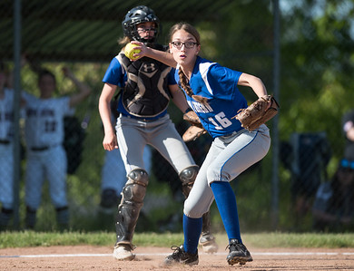 05/21/18  Wesley Bunnell | Staff  Bristol Eastern softball defeated Bristol Central on Monday afternoon at Bristol Central High School. Jenna Winters (16).