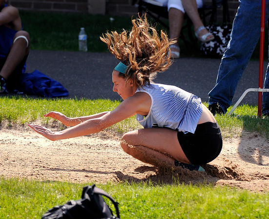 5/23/2018 Mike Orazzi | Staff Middletown High School Madelyn Vianney during the CCC Track & Field Championships held at Bristol Eastern High School Wednesday.