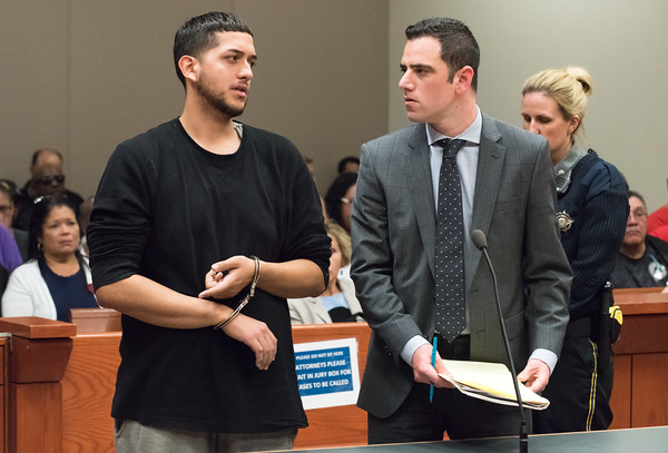 05/23/18 Wesley Bunnell | Staff Jonathan Rafael Soto , 22, of Convoy Drive was arraigned in New Britain Superior Court on Wednesday at noon for the fatal hit-and-run death of Angel &quote;Kiki&quote; Colon who was struck by a car that fled last Saturday afternoon.