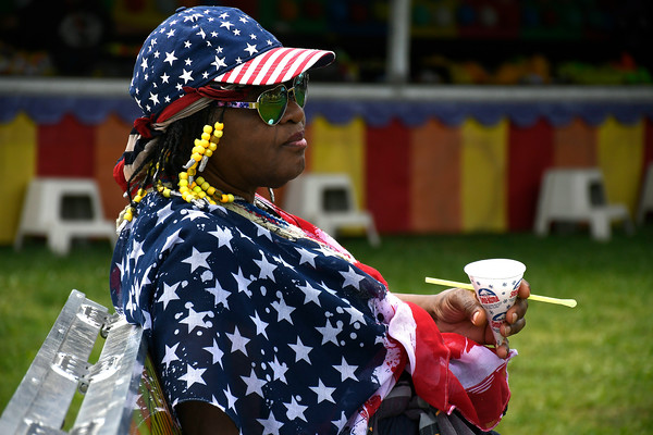 5/26/2018 Mike Orazzi | Staff Maryann Dudley while at the United Way carnival held on Memorial Blvd. in Bristol Saturday.