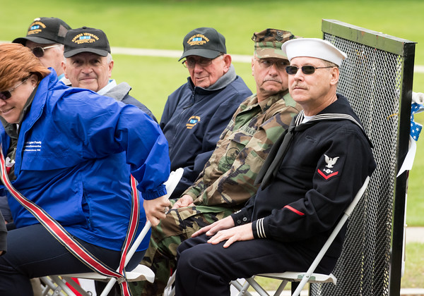 05/28/18 Wesley Bunnell | Staff Bristol held its second Memorial Day Parade on Monday morning starting near Race & North Main St and ending on Memorial Blvd with a ceremony. Korean War Veteran's ride down Memorial Blvd.