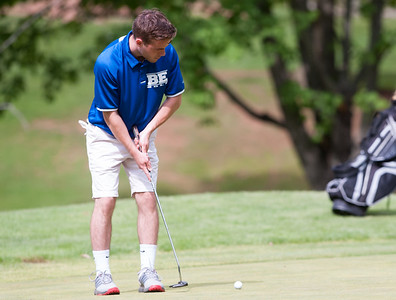 05/10/18  Wesley Bunnell | Staff  New Britain golf defeated Bristol Eastern 212-219 at Stanley Golf Course on Thursday afternoon. Bristol Eastern's Brendan McMahon shot a 51 for the day.