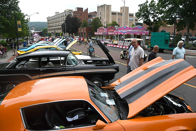 6/17/2017 Mike Orazzi | Staff The 8th Annual Bill Englert Memorial Auto Show held on North Main Street in Bristol Saturday.