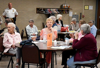 5/16/2018 Mike Orazzi | Staff The TRIAD Spring Conference held at the Bristol Senior Center in Bristol Wednesday.