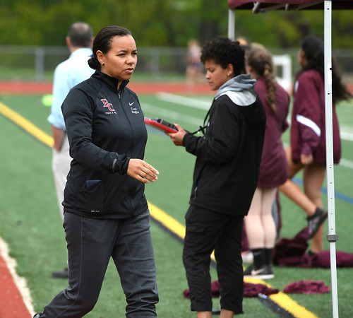 5/16/2018 Mike Orazzi | Staff Bristol Central's Tamara Stafford-Kirk Wednesday at BC.