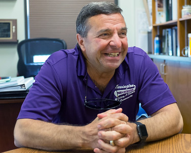 06/05/18  Wesley Bunnell   Staff  Newington Superintendent of Parks and Recreation Bill DeMaio, who is blind, discusses how his service dog Izaac helps in his daily life.
