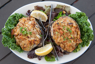 05/30/18  Wesley Bunnell | Staff  An order of stuffed clams which will be featured on the menu at The Clam Box which is set to be the newest addition to East Side Restaurant.