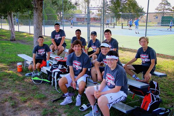 WMS Pioneer League Tennis @ Winfield 050718