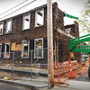 BRYAN EATON/Staff photo. The home at 19-21 Merrill Street in Newburyport is being demolished.