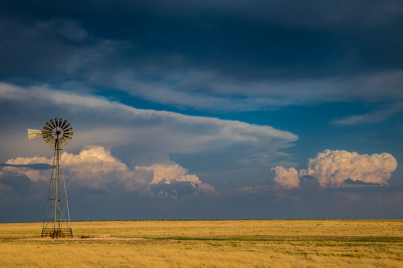 Distant Thunderstorms