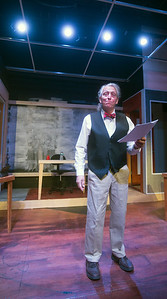 """JIM VAIKNORAS/Staff photo Joe Dominquez as Mr Stone in the Actor Studio production of """"The Trail of Mr. Stone,"""""""