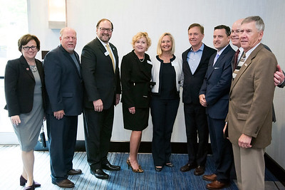 05/13/19  Wesley Bunnell | Staff  Governor Ned Lamont spoke with the Central Connecticut Chambers of Commerce on Monday in Bristol.  Mayor Ellen Zoppo-Sassu,  Walcott Mayor Thomas Dunn, Paul S. Lavoie, Cindy Bombard,  Rose Ponte, Governor Ned Lamont, Jay Sattler from Blum Shapiro, Kurt Barwis from Bristol Hospital and Plymouth Mayor Dave Merchant.