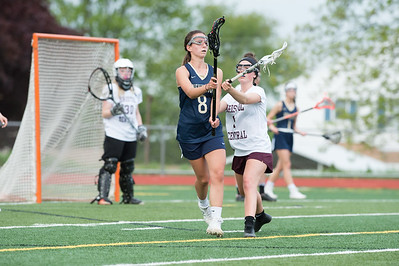 05/10/19  Wesley Bunnell | Staff  Newington girls lacrosse defeated Bristol Central in an away game at Bristol Central High School on Friday afternoon.