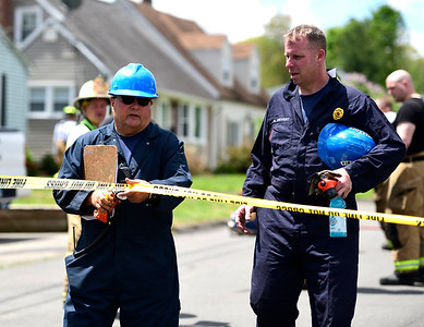 5/16/2019 Mike Orazzi   Staff The scene of a house fire on Fairbanks Street in Plainville Thursday morning. One person was rescued and eventually flown to the Bridgeport Burn Center at Bridgeport Hospital. Crews from several surrounding towns responded as mutual aid.