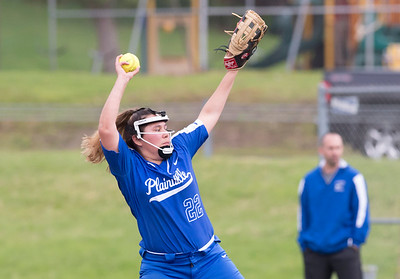 05/17/19  Wesley Bunnell | Staff  Bristol Eastern softball defeated Plainville on Friday night at Bristol Eastern High School. Mackenzie Alvarado (22).