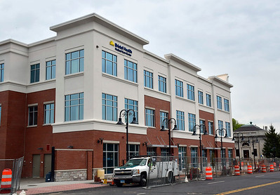 5/17/2019 Mike Orazzi | Staff The new Bristol Health building on Riverside Avenue in downtown Bristol.