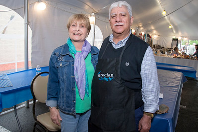 05/17/19  Wesley Bunnell | Staff  The 36th annual Greek Festival at St. George Greek Orthodox Church is taking place thru Sunday. Maria Michael, L, and husband Michael T. Michael are both part of the church community and help run the event.