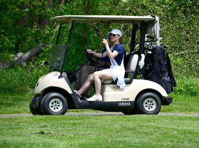 5/23/2019 Mike Orazzi | Staff MIss Bristol Micayla Barrows during the 2nd Annual Miss Connecticut Golf Tournament held at Chippanee Golf Club in Bristol on Thursday.