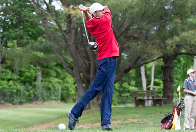05/29/19  Wesley Bunnell | Staff  New Britain golf competed along with Berlin and Goodwin Tech in the Stan Pisk Memorial Golf Tournament on Wednesday afternoon at Stanley Golf Course. Berlin's Jacob Lindsay.