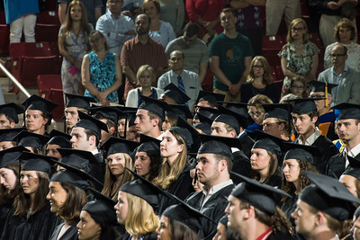 Scenes from Baccalaureate services Saturday afternoon in Belk Arena.