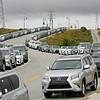 U.S. Open courtesy cars