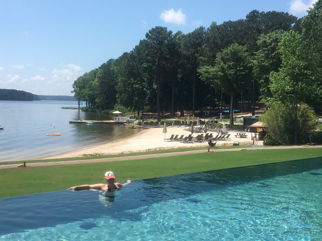 Poolside at Ritz Lake Oconee