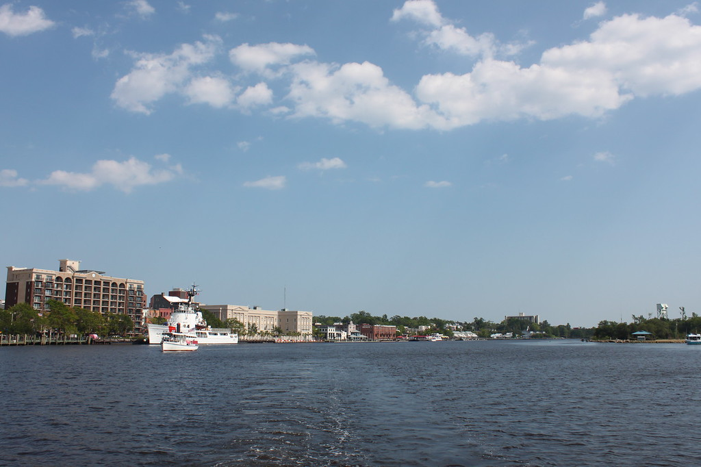 Wilmington from the Cape Fear River