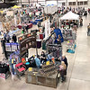 KEVIN HARVISON | Staff photo<br /> An areal view of the Arts and Crafts vendors inside the Southeast Expo Building during the 2019 Italian Festival.