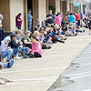 KEVIN HARVISON | Staff photo<br /> People line Choctaw Avenue before the start of the Armed Forces Day Parade Saturday in McAlester.