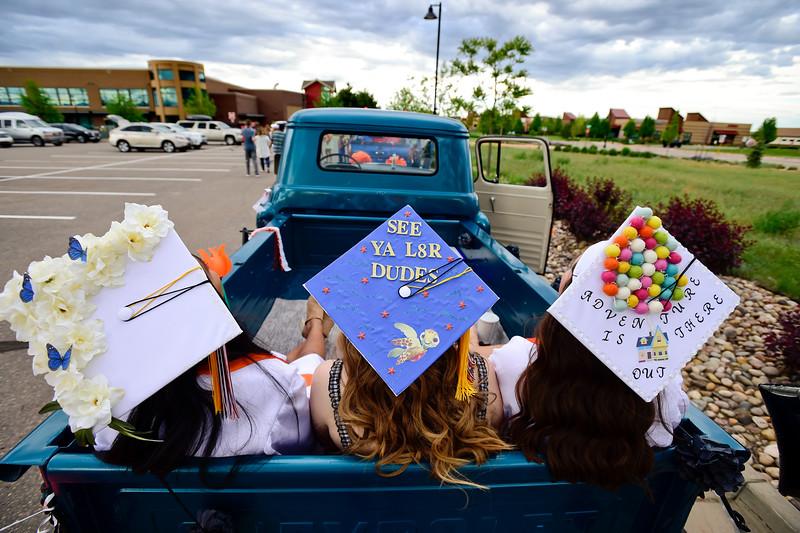 Erie High School Graduate Parade